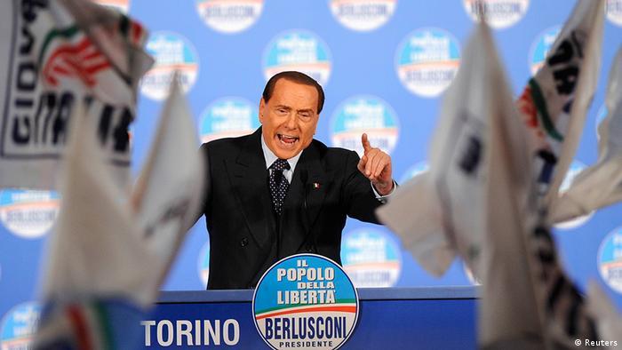 Italien Wahlen Parteien PdL Silvio Berlusconi