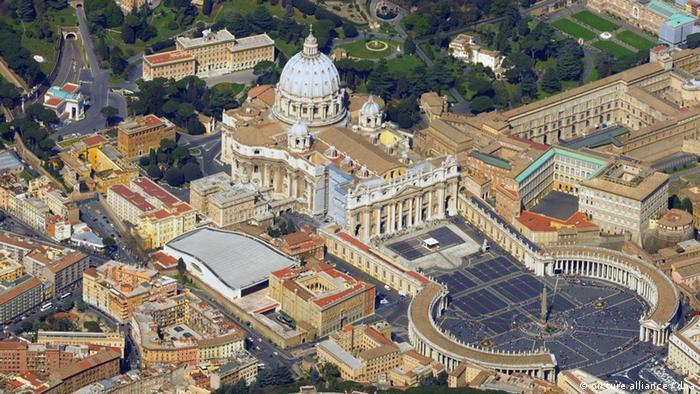 Petersdom Übersicht Vatikan