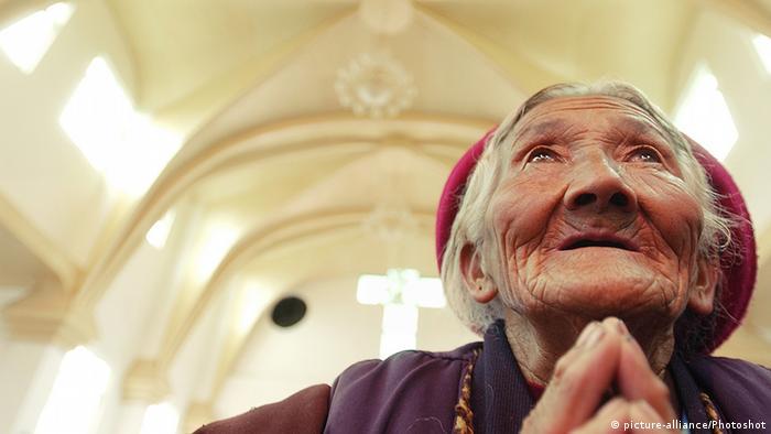 China Religion Christen in Tibet
