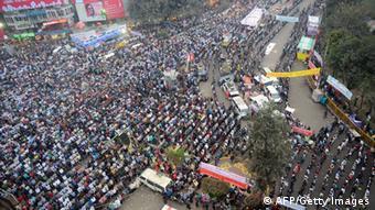 Bangladesch Blogger Ahmed Rajib Haider Beerdigung