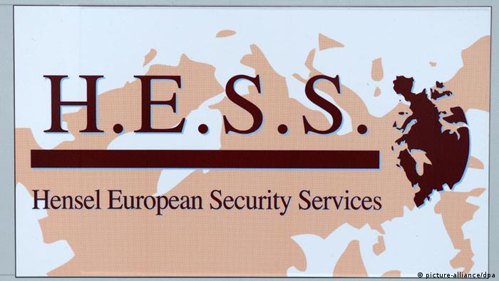 La empresa de seguridad H.E.S.S., Hensel European Security Services, con sede en Kassel.