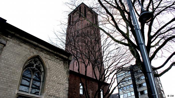 St Johann Baptist Kirche in Köln von außen (Foto: Naomi Conrad/DW)