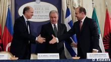 Griechenland Albanien Italien Vertragsunterzeichnung Trans Adriatic Pipeline TAP