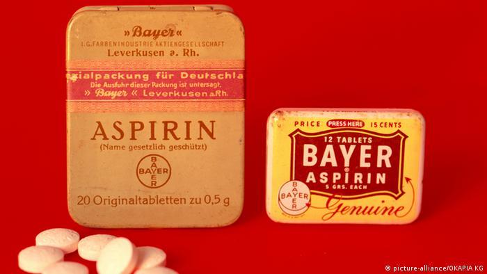 Aspirin Verpackung