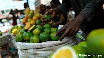 Fruit at a market in Uganda Photo:TONY KARUMBA/AFP/Getty Images)