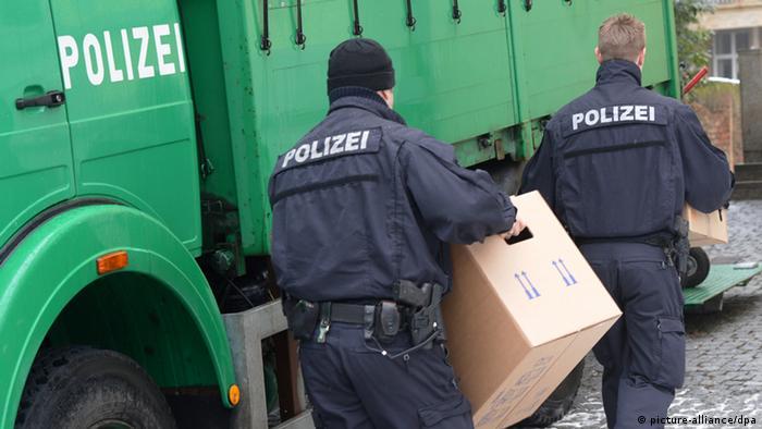 Обыск в Германии