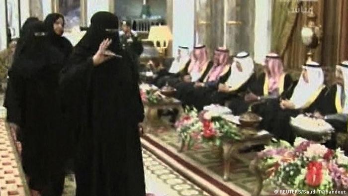 Saudi Arabien Parlament Riyadh Shura Shoura Frauen weibliche Abgeordnete (REUTERS/Saudi TV/Handout)