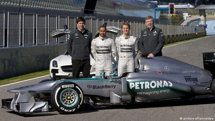 Formel-1 Teams: Mercedes AMG (picture-alliance/dpa)