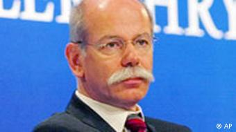 Dieter Zetsche, fuer Chrysler zustaendiges Vorstandsmitglied der DaimlerChrysler AG