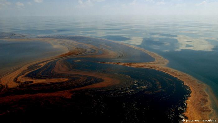 Öl Katastrophe USA Golf von Mexiko Bohrinsel Deepwater Horizon