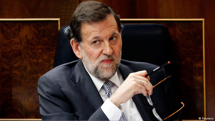 Spain's Prime Minister Mariano Rajoy Photo: Reuters