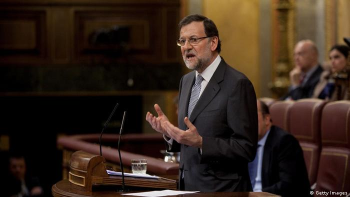 Spain's Prime Minister Mariano Rajoy (Photo by Pablo Blazquez Dominguez/Getty Images)