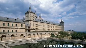 The former royal residence and monastery of El Escorial