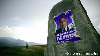 Boiko Borisov auf einem Plakat