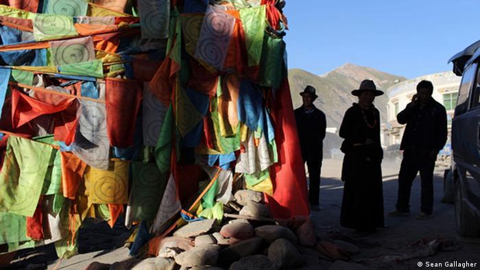 Fotoreportage in Tibet (Ausschließlich zur Verwendung Reportage Sean Gallagher)