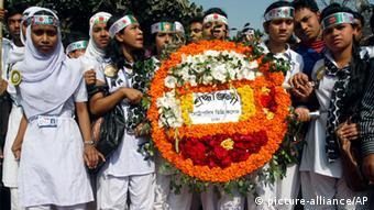 Bangladesch Dhaka Tag der Muttersprache