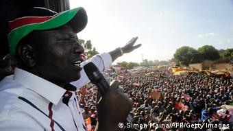 William Ruto addresses supporters during a political rally in February 13, 2013. (Photo: SIMON MAINA/AFP/Getty Images)