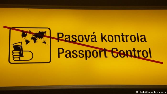 Passkontrolle in Tschechien