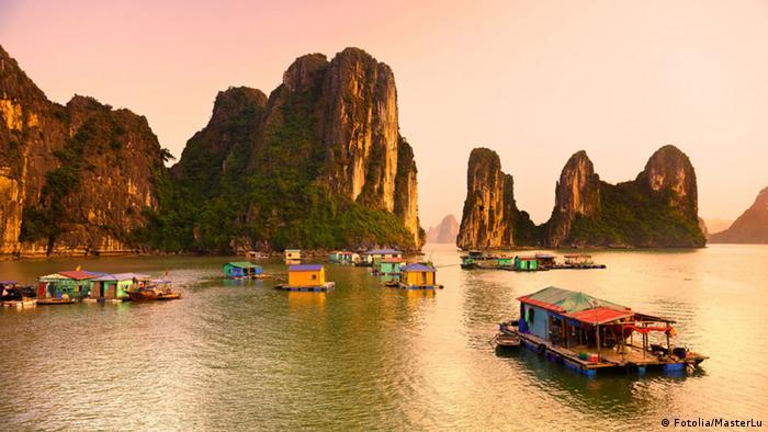 Bildergalerie Wasser als Wohnfläche Hausboot Vietnam