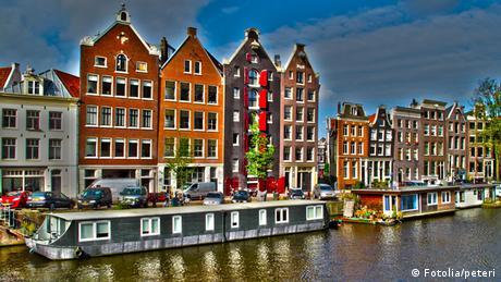 Bildergalerie Wasser als Wohnfläche Hausboot Amsterdam Niederlande