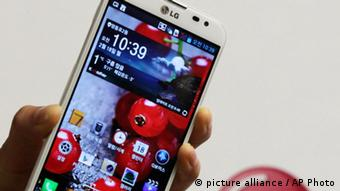 LG Electronics' new smartphone Optimus G Pro (AP Photo)