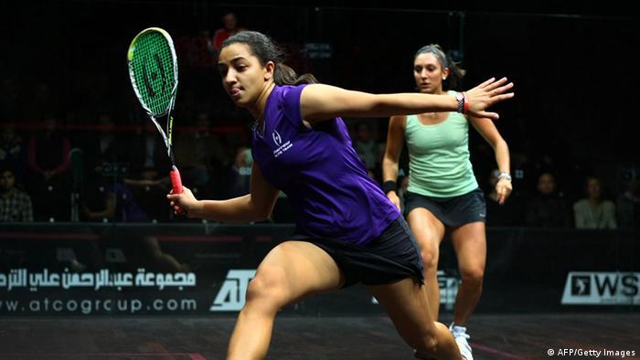 Bildergalerie Sportarten, die olympisch werden möchten Squash (AFP/Getty Images)