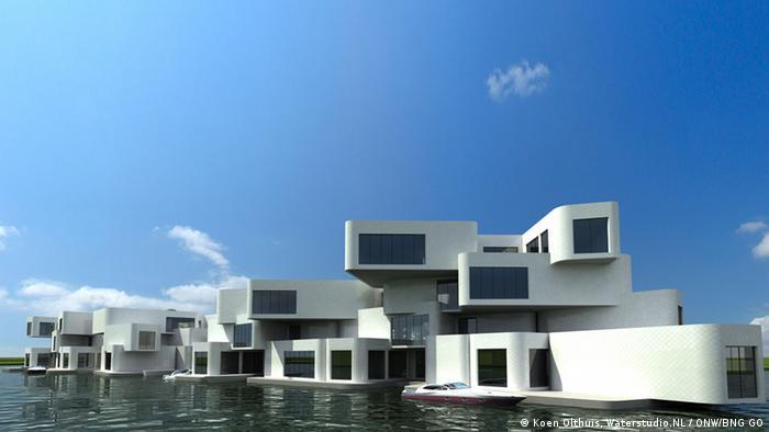 Bildergalerie Wasser als Wohnfläche Projekt Citadel in Naaldwijk von Waterstudio NL