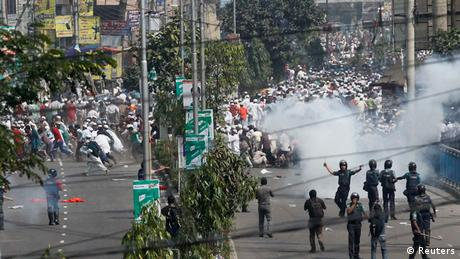Proteste in Dhaka