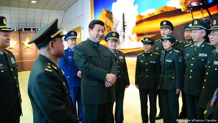 China Xi Jinping Generalsekretär kommunistische Partei Militär Soldaten Armee