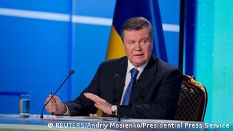 Ukaines Präsident Janukowitsch (Foto: Reuters)
