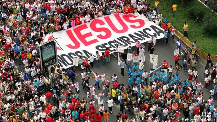 1.5 million people participated in the March for Jesus in Sao Paulo in May 2005