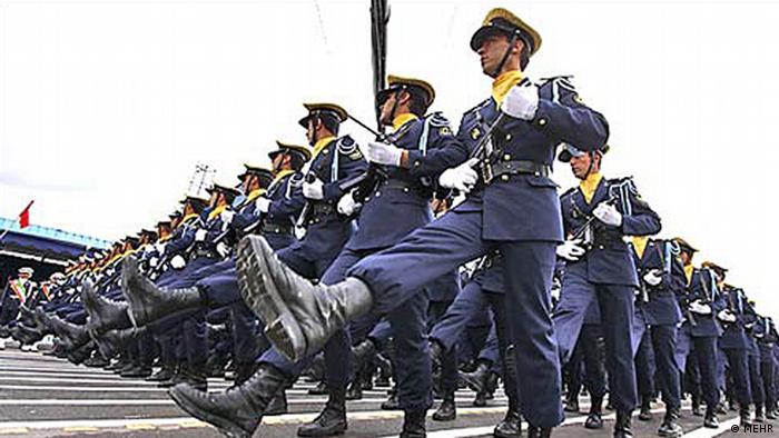 Iran Militärparade (MEHR)