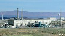 In this undated photo released by the Department of Energy, the U-Plant Canyon processing facility, created in the 1940s as part of the top-secret Manhattan Project to build the atomic bomb, is seen in Hanford, Wash. State and federal officials have reached an agreement for cleaning up and disposing of the highly contaminated World War II-era chemical separation plant. The agreement was signed by the U.S. Department of Energy, which manages cleanup at the Hanford site, the Environmental Protection Agency and the state Department of Ecology. (AP Photo/Department of Energy)/li