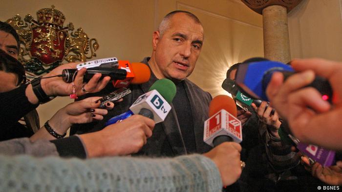 Bulgariens Premier Bojko Borissow