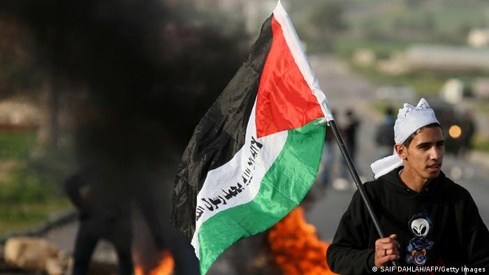 Palestina Demonstrationen 2013 (SAIF DAHLAH/AFP/Getty Images)