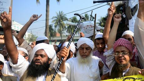 Islamistische Proteste in Bangladesh