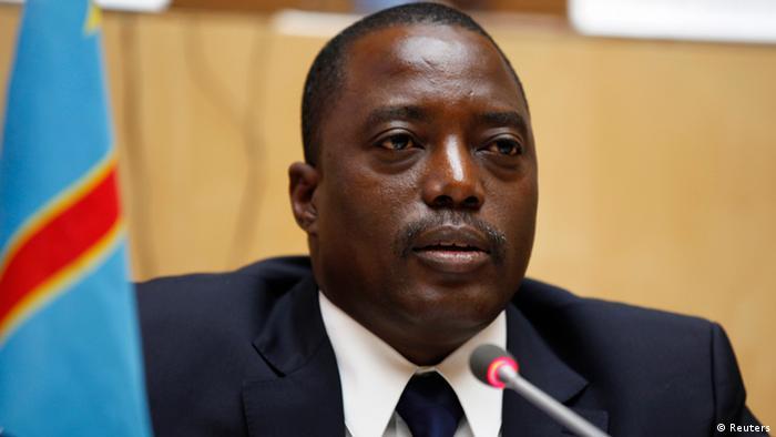 Rais Joseph Kabila wa Jamhuri ya Kidemokrasia ya Kongo.