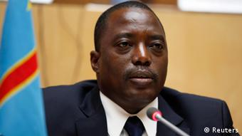 Portrait von Kongos Präsident Kabila (Foto: Reuters)