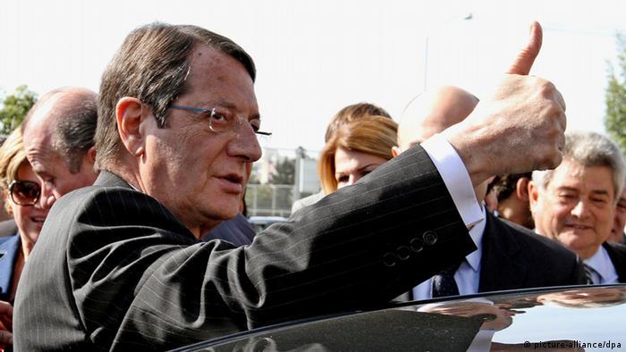 Zypern neuer Präsident: Nikos Anastasiades (Foto: dpa)