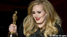 Oscars 2013 Oscarverleihung Adele Bester Song Skyfall