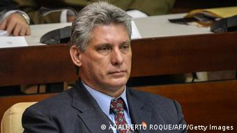 Miguel Diaz-Canel, February 24, 2013.