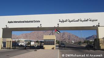 image: 1 Main title: Aqaba International Industrial Estate -the German role Photo title: Aqaba International Industrial Estate Place and date, Aqaba - Jordan 19 - 2- 2013 Copy right/photographer – Mohamad Al Anasweh- DW Zulieferer: Ibrahim Mohamad