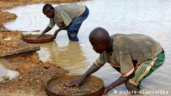 Blut Diamanten aus Sierra Leone