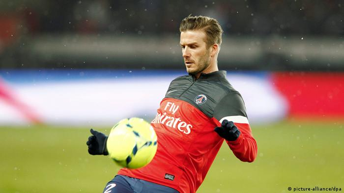 Paris St. Germain Olympique Marseille David Beckham (picture-alliance/dpa)