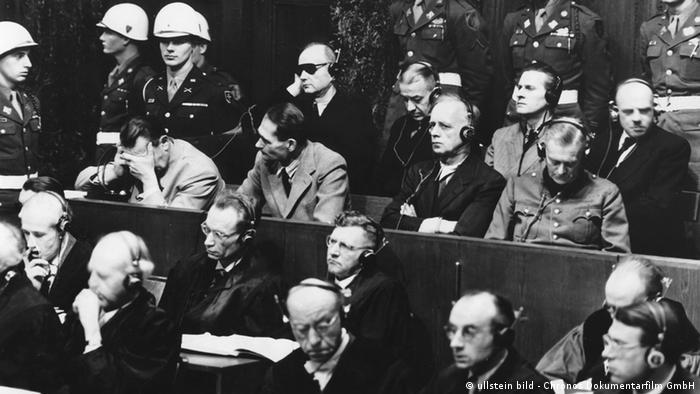 Нацистские преступники на скамье подсудимых
