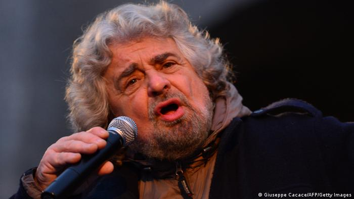Italien Wahlen Beppe Grillo (Giuseppe Cacace/AFP/Getty Images)