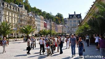 H διάσημη τσεχική λουτρόπολη Κάρλοβι Βάρι σήμερα