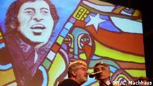 Finale Victor Jara Presente alle singen, Victor Jara Hintergrund