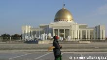 Turkmenistan - Palast des Präsidenten