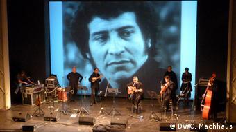 Quilapayún en el escenario de Victor Jara Presente en Berlin